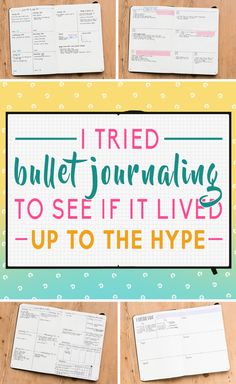 I Tried Bullet Journaling To See What The Hype Is Actually About