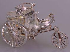 Daimler Benz Motorwagen, Modell in 925 Silber (# 2918)