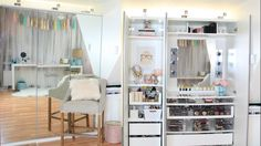 ♡My Makeup Tour - PAX Wardrobe Vanity Bookcase https://www.youtube.com/watch?v=DgcYLbUr8Xo