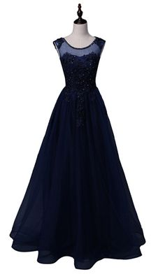The newly arrived gorgeous evening gown the front hall a line of the flooring length of the floor-length dance gown of pearl gown,