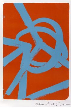 Mark Di Suvero, Planetaire, 5/25, 1987, Lithograph, 40 3/4 x 27 1/2 in. At the Gerald Peters Gallery, Santa Fe.
