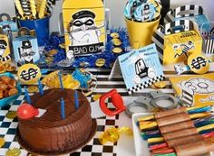 Cops and Robbers Birthday Party