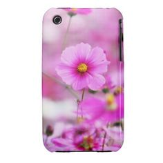 Sweet Pink Flower iPhone 3 Case-Mate Case