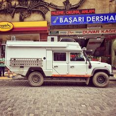 My feed is getting a bit vehicle heavy, but damn it if I haven't seen some nice rigs in Turkey. This very long wheelbase Land Rover is interesting.