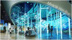 [당선] 서울시립과학관 Museum Exhibition Design, Exhibition Display, Exhibition Space, Design Museum, Showroom Interior Design, Eco Design, Interactive Exhibition, Museum Displays, Science Museum