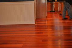 Brazilian cherry wood | http://floordesignideas.blogspot.com