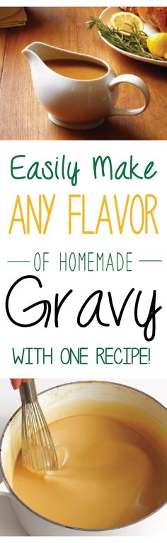 Although a scrumptious, silky gravy is an essential Thanksgiving dinner component at my house, and probably yours, but gravies can enhance many dishes and shouldn't be reserved for just one time of year. Turkey gravy, chicken gravy, biscuits and gravy, mushroom gravy, even vegan gravy can be made easily at home with basic