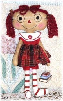 Raggedy Cathy Annie-raggedy,raggedy ann,raggedy   annie,primitive,doll,prim,annies,raggedies,handmade,homemade,rag doll