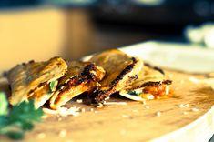 Kimchi and Cheese Quesadilla's.