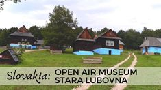 Stara Lubovna is a small town in the north-east corner of Slovakia. Despite its size the town had an important role in history of the region. Small Towns, Family Travel, Paths, Travel Inspiration, Museum, Cabin, House Styles, Videos, Family Trips
