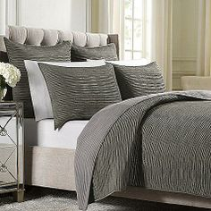 Wamsutta® Serenity Quilted Coverlet in Mink
