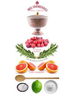 Mrs.Lilien's Cranberry Sauce