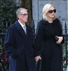 Pin for Later: Fashion Insiders Pay Their Respects at Oscar de la Renta's Funeral Diane Sawyer at Oscar de la Renta's Funeral
