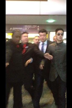 KHJ at the airport in Brazil