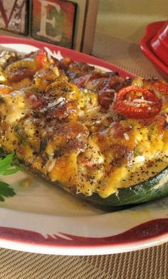 I was born to eat this classic Italian dish! Italian Beef Recipes, Classic Italian Dishes, Stuffed Zucchini, Fried Beef, Stuffed Mushrooms, Stuffed Peppers, Grated Cheese, Diet Ideas, Cherry Tomatoes