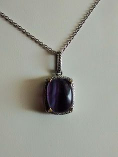 beautiful fluorite pendant