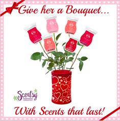 Get Scentsy wax bars here!  They make a great gift for Valentines day!  #Scentsy #Valentine