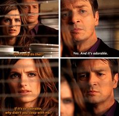 """Absolutely loved this episode with """"Natalie Rhodes"""" Beckett's jealousy was adorable <3"""