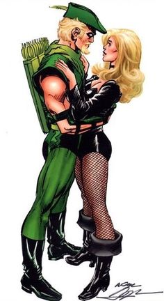 Green Arrow & Black Canary - Neal Adams