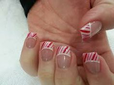 christmas gel nails - Google Search