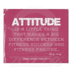 Pink Denim Fitness Quote with Attitude
