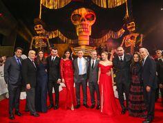 La alfombra roja de la Premiere de las Américas en Auditorio Nacional.