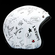 Ruby helmet - what a great idea, then all I'd need is a sharpie to make more memories