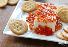 This Red Pepper Jelly recipe makes a delicious holiday appetizer or gift idea. Learn how to make it with this simple to follow recipe.