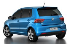 New Review Volkswagen Fox Comfortline 2016 Release Rear Side View Model