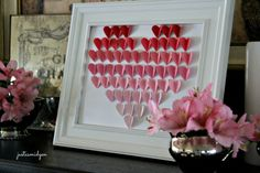 Ombre Paper Hearts 2