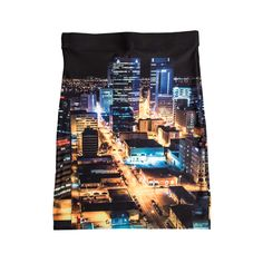 There's still time to get this skirt before Christmas! This skirt's featured image is a bird's eye view ofWinnipeg's downtown area. The lights and colour show …