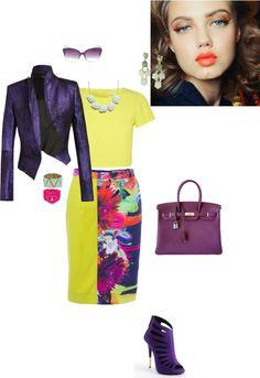 Стиль: яркий, деловой, сексуальный. Fashion style. Trendy