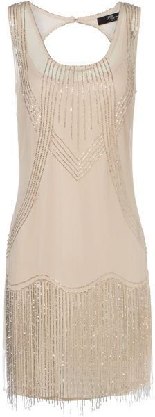 Jane Norman Mesh Flapper Dress.  What to wear when I am skinny once again.