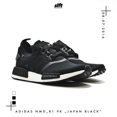 """Der NMD_R1 Primeknit """"Japan Black"""" von adidas kommt am 08.07.2016 und ist bei…"""