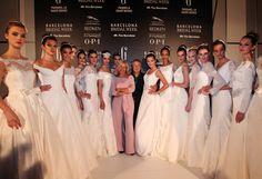 Backstage de Franc Sarabia en Barcelona Bridal Week 2014 #Moda nupcial #Vestidos de novia #Novia #Bride #Bridal #WeddingDresses www.barcelonabrid...