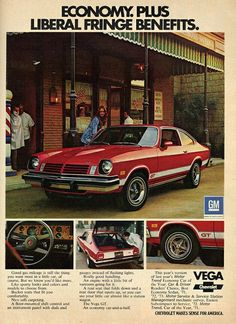 Chevy Vega Vintage AD Retro look Reproduction metal sign 8 x 12 Chevrolet Vega, Chevrolet Camaro, General Motors, Vintage Trucks, Vintage Ads, Classic Chevy Trucks, Classic Cars, Classic Auto, Volkswagen
