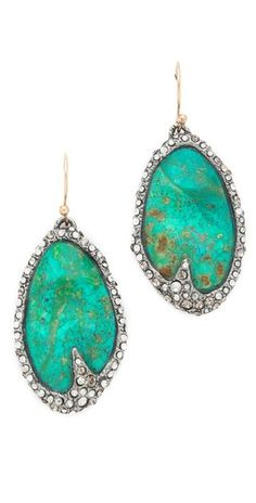 Alexis Bittar Cordova Chrysocolla Earrings | SHOPBOP Save 25% with Code EXTRA25