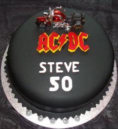 AC/DC Birthday Cake idea.....