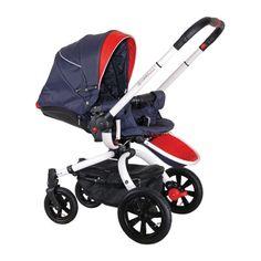 Accesorii bebelusi :: Carucioare copii :: Carucioare 2 in 1 :: Carucior rotativ Marcello 2 in 1 albastru Coletto