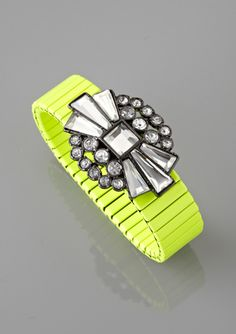 BCBGeneration Deco Neon Stretch Bracelet