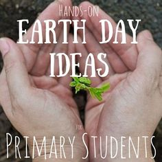 Check out these awesome HANDS-ON Earth Day Ideas!