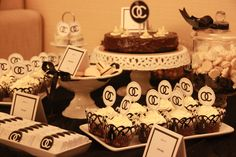 Coco Chanel Inspired Theme for a friend's Hen Party