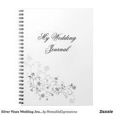 Silver Vines Wedding Journal