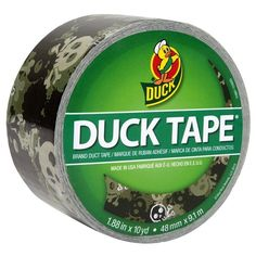 Printed Duck Tape® - Camo Skulls http://duckbrand.com/products/duck-tape?utm_campaign=color-duck-tape-general&utm_medium=social&utm_source=pinterest.com&utm_content=printed-duct-tape