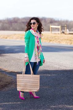 Stella & Dot Perforated Tote on Lipgloss & Labels