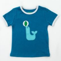 T-shirt Billy Tile Blue