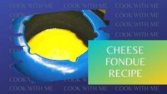 CHEESE FONDUE RECIPE WITH GRUYERE CHEESE FROM SWITZERLAND Swiss Cheese Fondue, Gruyere Cheese, Cooking Box, Cooking Recipes, Fondue Recipes, 15 Minute Meals, Switzerland, Dinner, Music