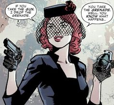 Black Widow follows the Boy Scout Motto.   23 Times Lady Superheroes Were 1000% Done