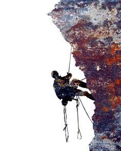 Rock Climbing, Mountain Climbing, Mountain Climber, Rock Climbing Wall Art…