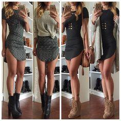 T-shirt dresses from @shopcivilized @shopcivilized | www.shopcivilized.com ❤️ Use code ANNALOVE for 15% off